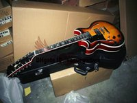 Wholesale left hand guitar 12 string for sale - Group buy Custom Shop Strings Guitar Left Hand Guitar Johnny Hollow Body Jazz Electric Guitar