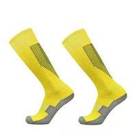 Mens Womens Solid Long Tube Sport Team Football Baseball Uniform Socks 2 Pairs CGTL Knee High Soccer Socks