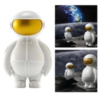 Wholesale boys toy room resale online - Resin Astronaut Figure Outer Space Themed Gift Toys Birthday Party Kids Boys Room Bedroom Decoration New Year Christmas Present