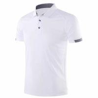 Wholesale mens golf polo shirt xl for sale - Group buy Golf Apparel Men polo Tshirt Running Short Sleeve Golf Tops Quick Dry Sport Polo Shirt Mens Sport Fitness Gym Tennis T Shirts