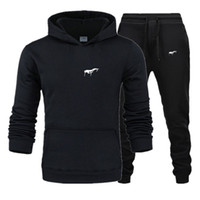 2020 men Tracksuit New Sportswear Sets Winter 3XL Casual clothes large size woman Two Piece Suit Hoodies Sweatshirt+joggers pants