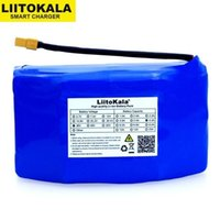 Wholesale rechargeable lithium battery 6v resale online - Consumer Electronics liitokala Original V Ah high drain wheel electric scooter self balancing lithium battery pack