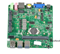 Wholesale Mini integrated dual network Gigabit micro industrial vehicle industrial control small motherboard mini PC motherboard