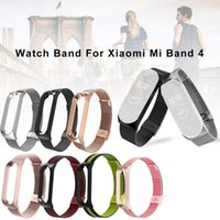 Wholesale xiaomi mi wrist band resale online - Strap For Xiaomi Mi Band Wrist Metal Bracelet Screwless Stainless Steel MIband for Mi Band Strap Wristbands Pulseira