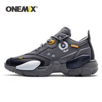 sapatas de basquetebol do onemix venda por atacado-ONEMIX 2020 Homens Running Shoes Tecnologia estilo confortável amortecimento Moda Unissex basquete Sapatos pai de Tênis Esporte Homens Sapatilhas
