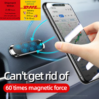 Magnetic Car Phone Holder Universal Paste Holder Stand For iPhone Samsung Xiaomi Huawei phone Holder Stand Car Mount Dashboad Free DHL Shipp