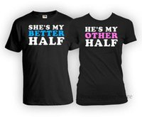 Wholesale His And Her Couple Matching Couple Clothes Just Married Gifts Relationship Ladies Sport Hooded Sweatshirt Hoodie T Shirt