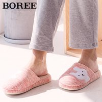 Wholesale slippers shoes kids animal for sale - Group buy BOREE Winter Warm Home Women Slippers Cute Animals Cartoon Girl Kid Slippers Soft Warm House Slippers Indoor Bedroom Floor Shoes X1020