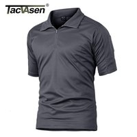 Wholesale tactical team resale online - TACVASEN Summer Short Sleeve Quick Dry T shirts Men s Military Tactical T shirts Lightweight Team Work Hiking Tops Mens Clothing