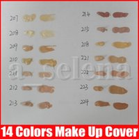 Wholesale hypoallergenic covers resale online - New makeup Base Make up Cover Extreme Covering liquid Foundation Hypoallergenic Waterproof g Cheap Skin Concealer color