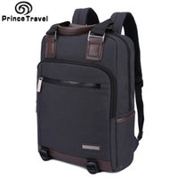 Wholesale princes bags resale online - Prince Travel Men s Tote Cool Backpack For Student Business Backpack For White Collar Workers Backpack For Inch Laptop Bag C1009