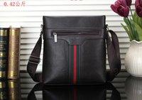 Wholesale mens designer briefcases resale online - Top Designer Italian Mens Shoulder Bags Man Genuine Leather Briefcases Men Handbag Bolsas Messenger Bag Men Wedding Dress Crossbody Bag NEW