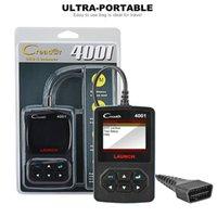 Wholesale launch scanner creader resale online - Launch CR4001 car scanner OBD2 DIY code reader Pins CReader diagnostic scanner professional car tools