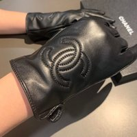 Wholesale novelty cycling resale online - designer barrette jewelry hot Sale beautiful gorgeous winter gloves leather gloves cycling gloves Party charmLE2E