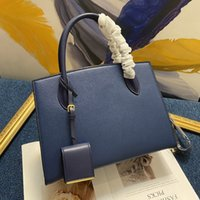Wholesale satchels totes army bags resale online - Brand Design Women Cow Leather Shoulder Bag Fashion Messenger Cross Body Bag Handle Totes Big Cosmetic Book Laptop HandBag With Mini Purse