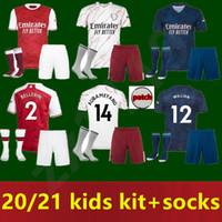 Wholesale men kids Gunners Soccer jersey Arsen PEPE NICOLAS CEBALLOS HENRY GUENDOUZI SOKRATIS MAITLAND NILES TIERNEY Football shirt