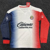 Wholesale chivas uniforms for sale - Group buy 20 Chivas de Guadalajara Soccer Jerseys th A PULIDO LOPEZ Away Football Shirt Camisetas de fútbol Long Sleeve Uniforms
