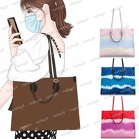 Wholesale canvas tote bags for sale - Group buy High Quality Women s Versatile Tote Bag with Straps Fashion Onthego Handbag Genuine Leather Shoulder Bag More Colors Lady Crossbody Bags