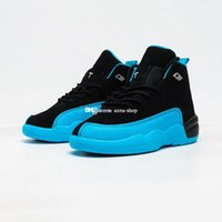 Wholesale big kids sneakers resale online - Fast ship Jumpman s Blue Black Basketball Shoes for Big Kids Sports Shoe Little Boys Sneakers Toddler Girls Sneaker Children A