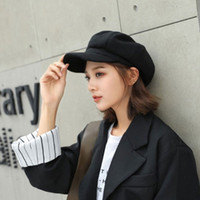 popular luxury designer Berets for woman hats caps cotton casquette women outdoor embroidery avant-garde Hip Hop Octagonal baseball dad caps