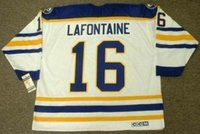 Wholesale goalie jerseys resale online - Men Women Youth PAT LAFONTAINE Buffalo Sabres CCM Vintage Turn Back Home Hockey Jersey Goalie Cut Top quality Any Name Any Number