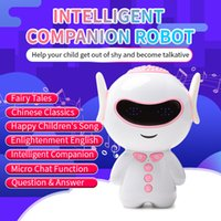 Wholesale smart education toys resale online - AI Smart Robot Huba Early Education Toy Wifi Voice Dialogue to Accompany the Education Learning Machine