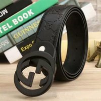 Wholesale mens white leather belt strap for sale - Group buy fashion mens designer belts leather classic print letter Embossing women designer belts luxury Waistband straps casual1Xo0143