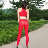 Wholesale crotchless pants resale online - Crotchless Leggings Fitness Legging Trouser Women Pencil Pant See Through Sexy Vertical Stripe Transparent Open Crotch Hot Pants