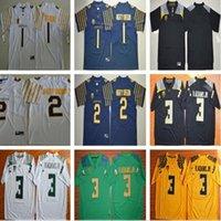 Wholesale ducks football jersey resale online - NCAA College Oregon Ducks Spring Mighty Royce Freeman Bralon Addison No Fan Oregon V adams jr Football Jerseys