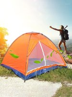 Wholesale instant tent person for sale - Group buy 2 person Tent Tents Outdoor Camping Beach Tent Blow Up Sun Shade for Beach Instant Single layer sun block colorful1