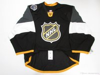 Wholesale goalie jerseys resale online - Cheap custom ALL STAR GAME DARK JERSEY GOALIE CUT stitch add any number any name Mens Hockey Jersey