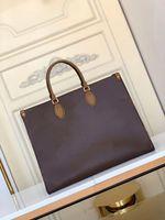 Women Luxurys Designers Handbags M45320 Ladies Tote Shopping Bags Wholesale Handbag Fashion Onthego Classic Letter Purse 36 41cm On The Go