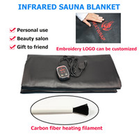 Wholesale fir heating resale online - Hot Sale model FIR Sauna FAR Infrared BODY SLIMMING Sauna Blanket Slimming Machine heating therapy Slim Hot Fat SPA