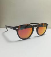 Wholesale oliver people sunglasses resale online - oliver vintage men women peoples sunglasses ov5186 polarized sunglasses mm mm retro ov designer brand with full package
