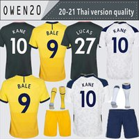 Wholesale spurs soccer jersey resale online - Men KIDS BALE KANE SON BERGWIJN NDOMBELE Soccer Jerseys MORGAN DELE LUCAS jersey Football kit shirt LLORIS SPURS HOME
