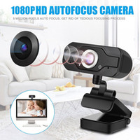1080P Full HD Megapixels USB2.0 Webcam Camera with MIC Clip-on for Computer PC Laptop 2MP Web Cam Widescreen Video Calling