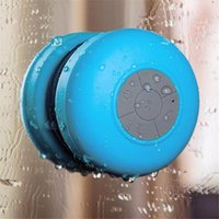 Wholesale bluetooth received for sale - Group buy Bluetooth Speaker Waterproof Wireless Shower Handsfree Mic Suction Chuck Speaker Portable mini MP3 Super Bass Call Receive