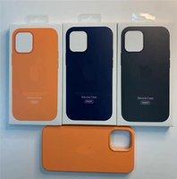 Wholesale Original Liquid Silicone Case For iPhone Pro Max mini pro Case Official Liquid Case With Retail Box