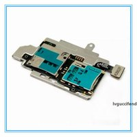 Wholesale sim card s online – DHL New Original Sim Card Holder Micro SD Memory Socket Slot Tray flex cable For Samsung Galaxy S3 S III GT i9300