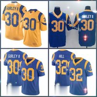 Wholesale todd gurley for sale - Group buy Los Angeles Rams men Troy Hill Todd Gurley men women youth retro rugby jersey