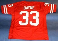 Wholesale football badgers for sale - Group buy Cheap Custom Retro RON DAYNE WISCONSIN BADGERS Football Jersey Men s All Stitched Red Any Size XS XL XL Name Or Number