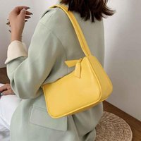 Wholesale lightweight women handbag for sale - Group buy Handbag Design Retro Handbags Women Shoulder Underarm Bag Crossbody Bags Pu Leather Lightweight