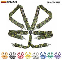 Wholesale epman for sale - Group buy Epman Universal point quot nylon Strap Harness Safety Camlock Racing Seat Belt Epm cam6