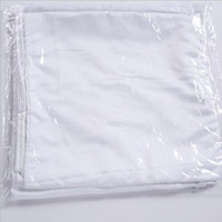 Wholesale price Sublimation Pillowcase Heat Transfer Printing Pillow Covers Sublimation Blanks Pillow Cushion 40X40CM Polyester Pillow Cover