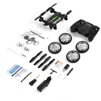 Wholesale Black Air Road Double Mobel FY602 Flying Car G RC Quadcopter Drone Axis CH Helicopter With HD Camera Run Double Side