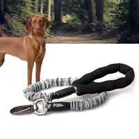 chien lévrier achat en gros de-MySudui Retractable Dog Leash Nylon Rope Running Bungee Extendable Dog Leads Pet Leashe For Dog Strap Pitbull Greyhound Dropship 201028