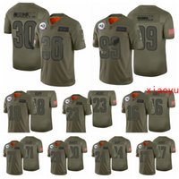 Wholesale todd gurley resale online - Los Angeles Rams Men Aaron Donald Jared Goff Todd Gurley II Kupp Olive Salute to Service Limited Football Jerseys