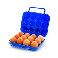 Wholesale eggs cartons for sale - Group buy Protection Organizer Carton Case Crushproof For Portable Carrier Hiking Egg Ouaona Breakproof Outdoor Holder Storage Box Tray bbylRp