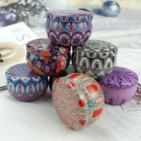 Wholesale accessories for travel for sale - Group buy 125styles Candy Tins Metal Tin Empty Round Metal Storage Tin Cans Jars Containers Travel Storage Tins for Candy Cookie Lip DIY Candles