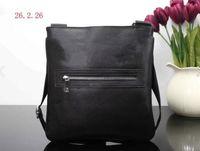 Mens Briefcase Business Bags Casual Business PU Leather Mens Messenger Bag Vintage Men's Crossbody Bag Bolsas Black Yellow Shoulder Bag